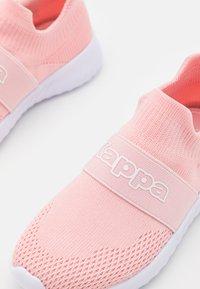 Kappa - PEC UNISEX - Sports shoes - rose/white - 5