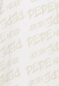 Pepe Jeans - MARIO UNISEX - T-shirt imprimé - oyster - 6