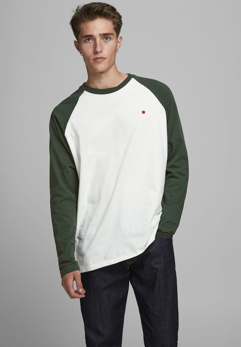 Jack & Jones PREMIUM - Long sleeved top - climbing ivy