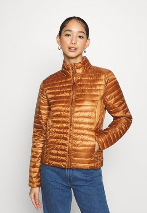 JDYNEWMADDY PADDED JACKET - Light jacket - leather brown