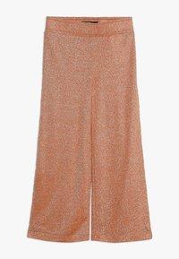 LMTD - NLFJULIA WIDE CULOTTE PANT - Trousers - sun orange - 0