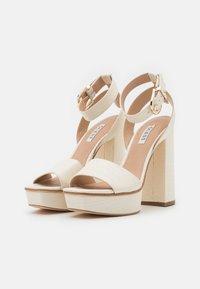 Guess - RIPPA - Platform sandals - cream - 2