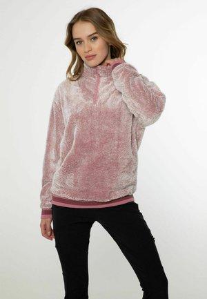 BESTIO - Fleece jacket - berry melee