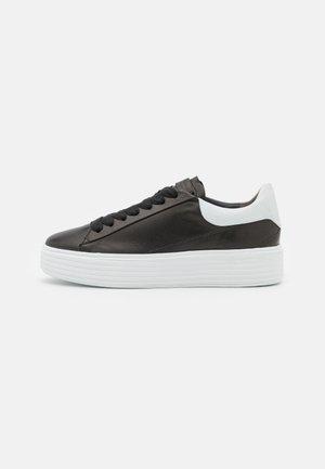 Sneakers laag - schwarz /bianco