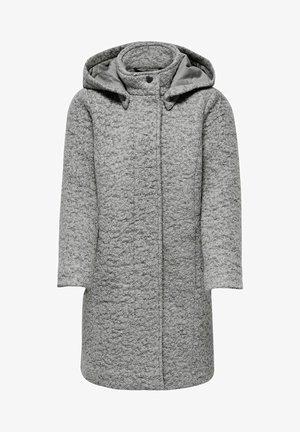 ONLY  - Classic coat - light grey melange