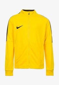 Nike Performance - DRY ACADEMY 18 - Training jacket - yellow - 0
