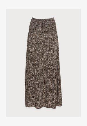 OLGA SKIRT - Maxi skirt - black
