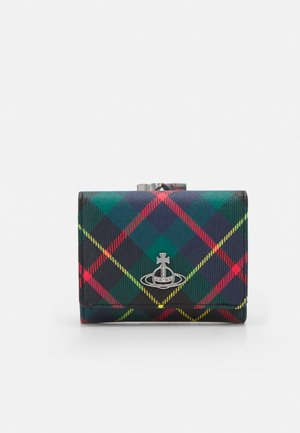 DERBY SMALL FRAME WALLET - Monedero - green