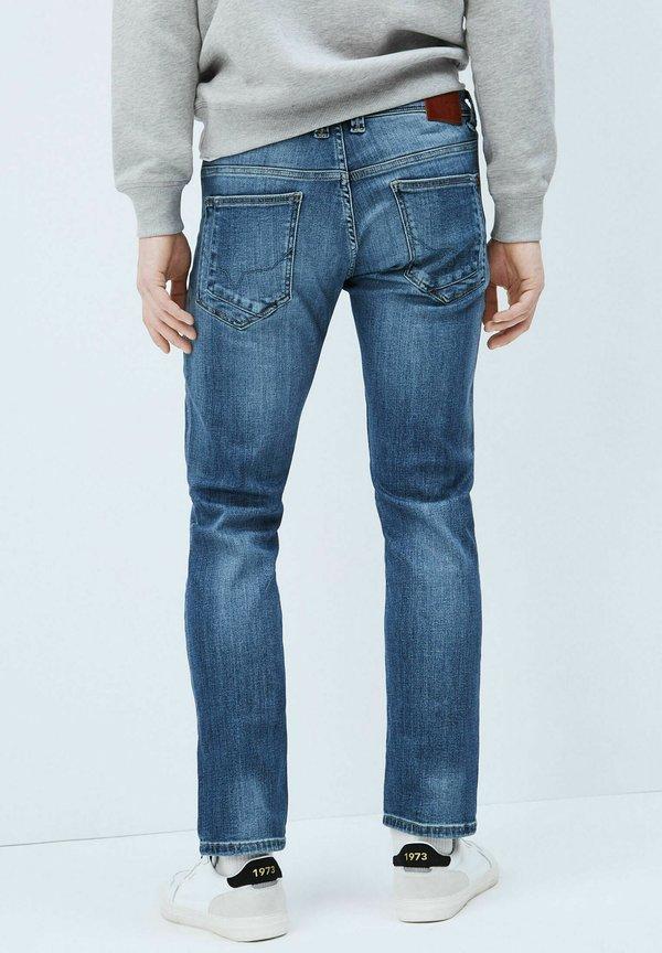 Pepe Jeans Jeansy Slim Fit - denim/niebieski denim Odzież Męska RUHG