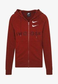 Nike Sportswear - HOODIE - Mikina na zip - team red - 4