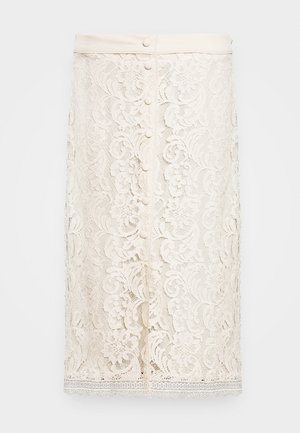 SKIRT - A-Linien-Rock - whisper beige