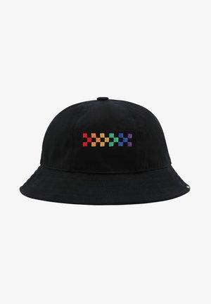 WM PRIDE BUCKET HAT - Sombrero - black