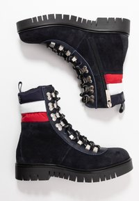Tommy Jeans - PADDED LACE UP BOOT - Snørestøvletter - blue - 3
