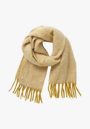 MIT FRANSEN - Scarf - yellow/white