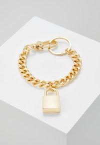 Urban Classics - PADLOCK BRACELET - Bracciale - gold-coloured - 0