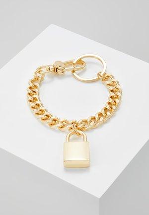 PADLOCK BRACELET - Armband - gold-coloured