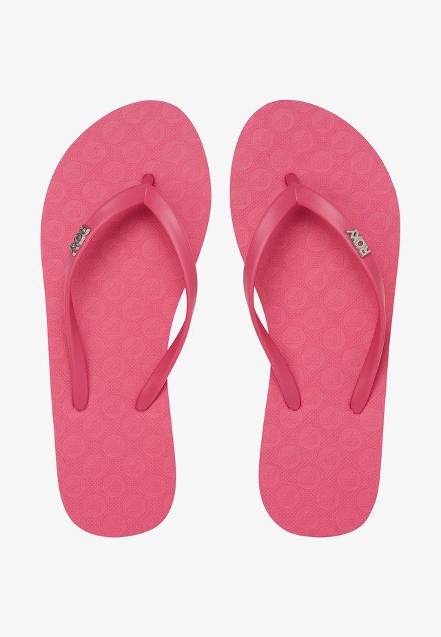Japonki kąpielowe - pink