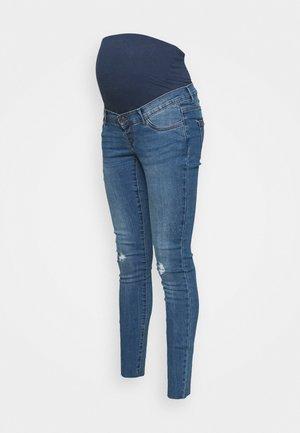 VMMTANYA PIPING CUT - Skinny džíny - medium blue denim
