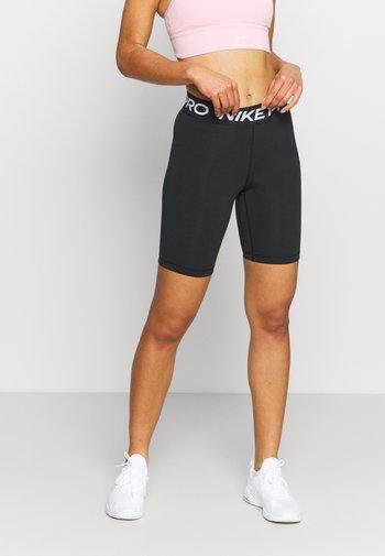365 SHORT - Leggings - black/white