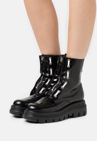 MSGM - STIVALETTO DONNA WOMAN`S BOOT - Platform ankle boots - black - 0