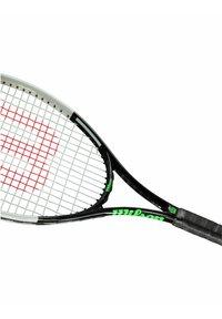 Wilson - BLADE FEEL BESAITET - Tennis racket - schwarz/grün - 2