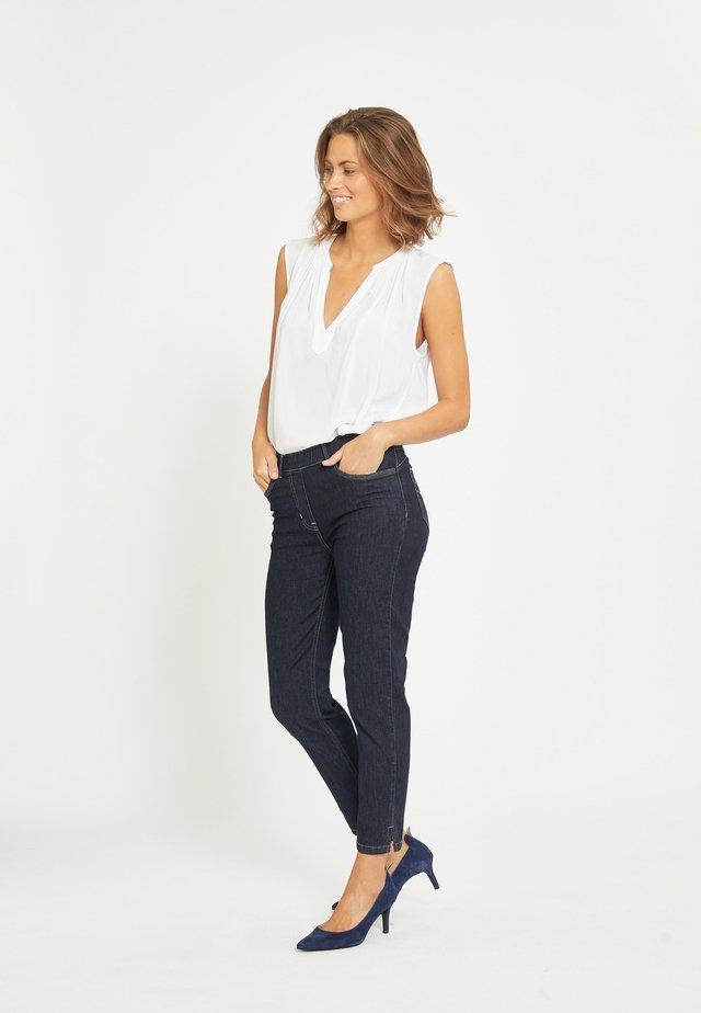 HANNAH - Straight leg jeans - blue