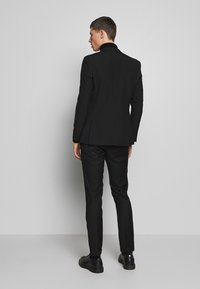Limehaus - SUIT SLIM FIT - Costume - black - 2