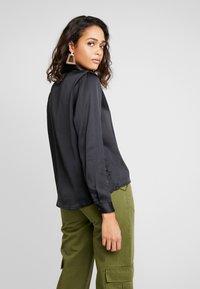 JDY - JDYFIFI  - Button-down blouse - black - 2