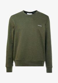 Calvin Klein - LOGO EMBROIDERY - Sweatshirt - green - 3