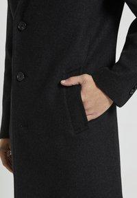 TOM TAILOR - Classic coat - dark grey wool jacket - 4