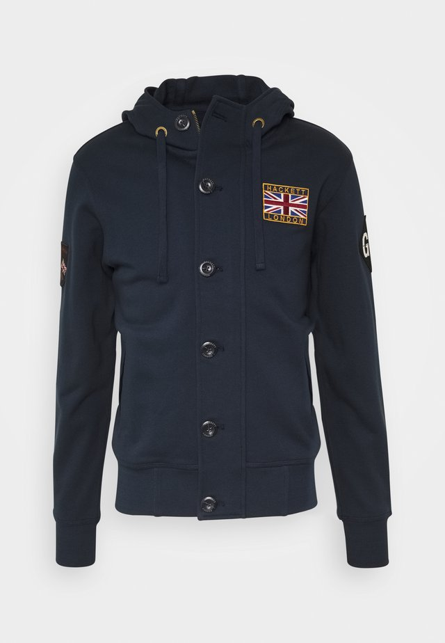 RALLY HOODY - veste en sweat zippée - navy