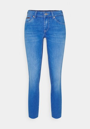 SOPHIE ANKLE - Jeansy Skinny Fit - blue denim