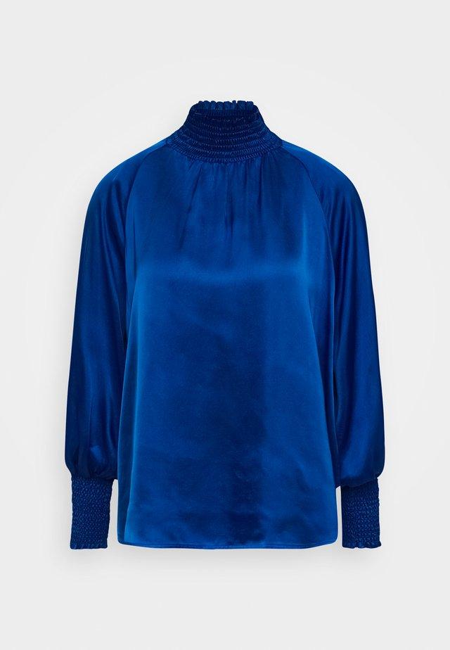 DIONE BLOUSE - Blouse - mosaic blue
