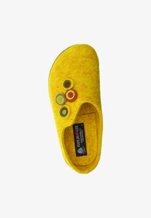 GRIZZLY KANON - Slippers - mais/gelb