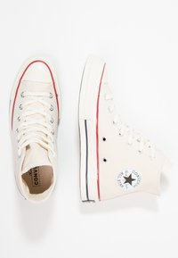 Converse - CHUCK TAYLOR ALL STAR 70 HI - High-top trainers - parchment - 1