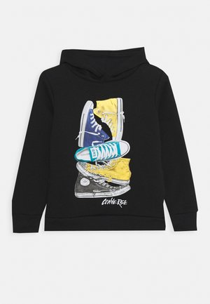 STACKED REMIX PULL OVER - Hoodie - black