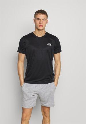 MENS REAXION BOX TEE - T-shirt print - black