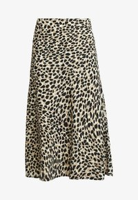 Great Plains London - CARA LEOPARD - A-line skirt - beige - 3