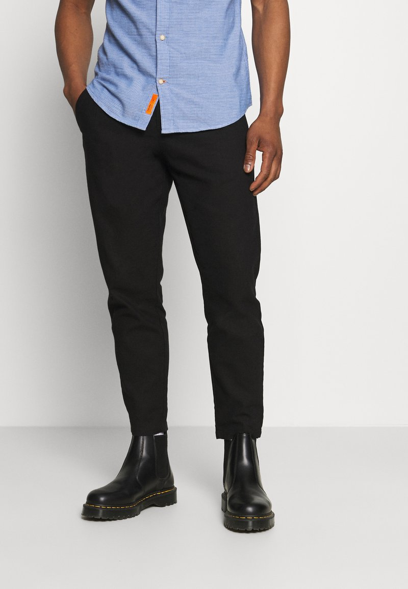 Only & Sons - ONSLEO - Trousers - black