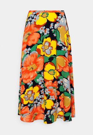JUNO MIDI SKIRT SUNBEAM - A-linjainen hame - orange