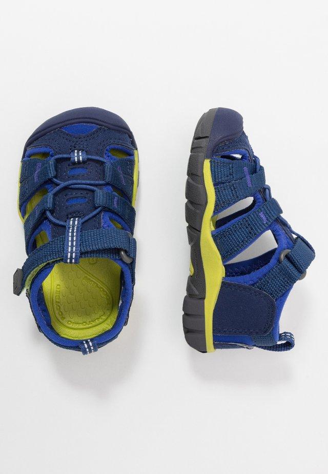 SEACAMP II CNX - Sandały trekkingowe - blue depths/chartreuse