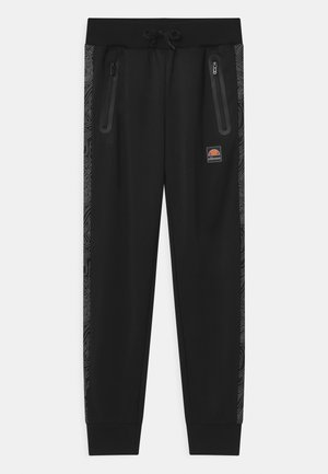 GENARIO UNISEX - Tracksuit bottoms - black