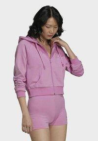 adidas Originals - Zip-up sweatshirt - pink - 4