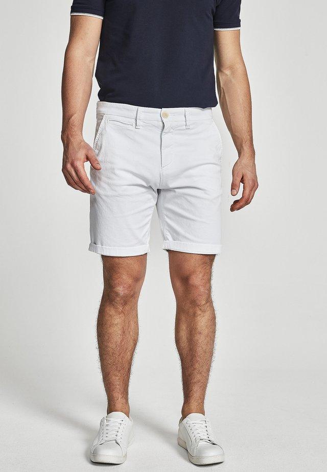 GABARDINE - Short - white