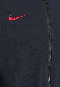 Nike Performance - FRANKREICH HOODIE - National team wear - dark obsidian/university red - 2