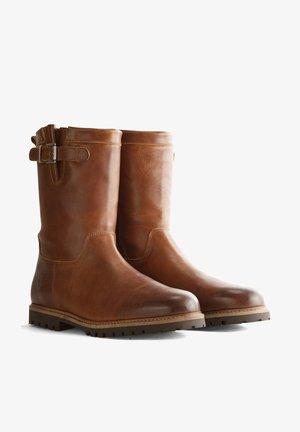 MELDAL - Boots - cognac