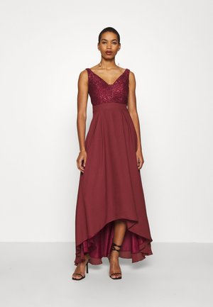 Robe de cocktail - earth red