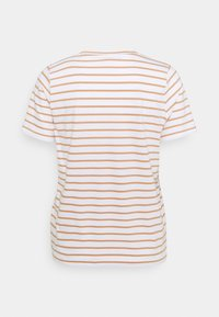 Anna Field - T-shirts med print - white/camel - 1