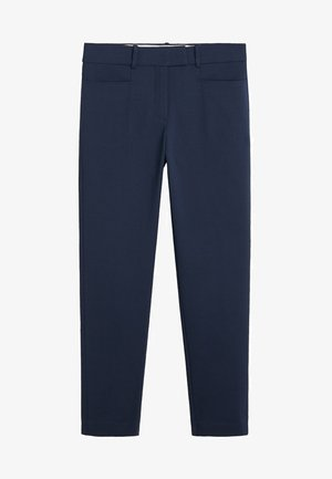 ALBERTO - Trousers - dark navy blue