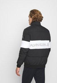Calvin Klein Jeans - OUTLINE LOGO JACKET - Winter jacket - black - 2